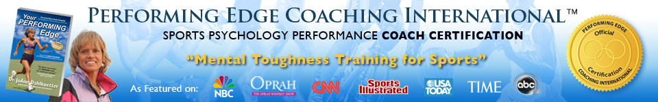sports psychology mental performance certification for athletes and coaches